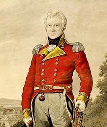 Major George Johnson of the Rum Corps