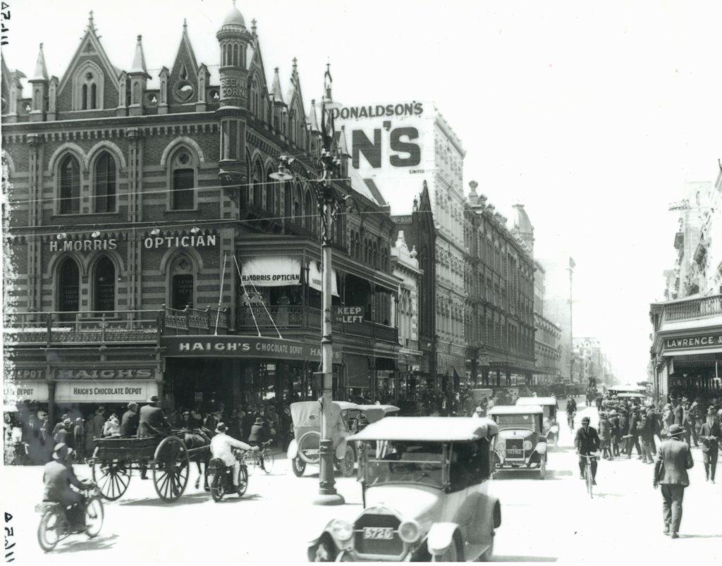 Haigh's Behive Corner 1915