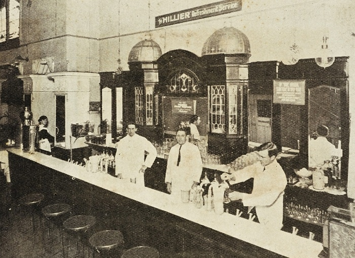 Hillier Soda Fountain in Sydney