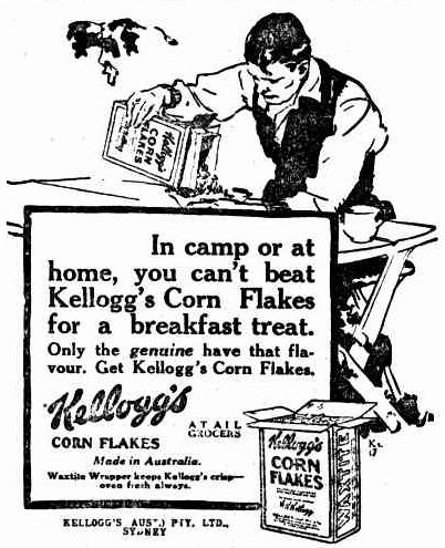Corn Flakes advertising
