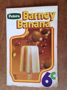 Barney Banana circa mid-'60s