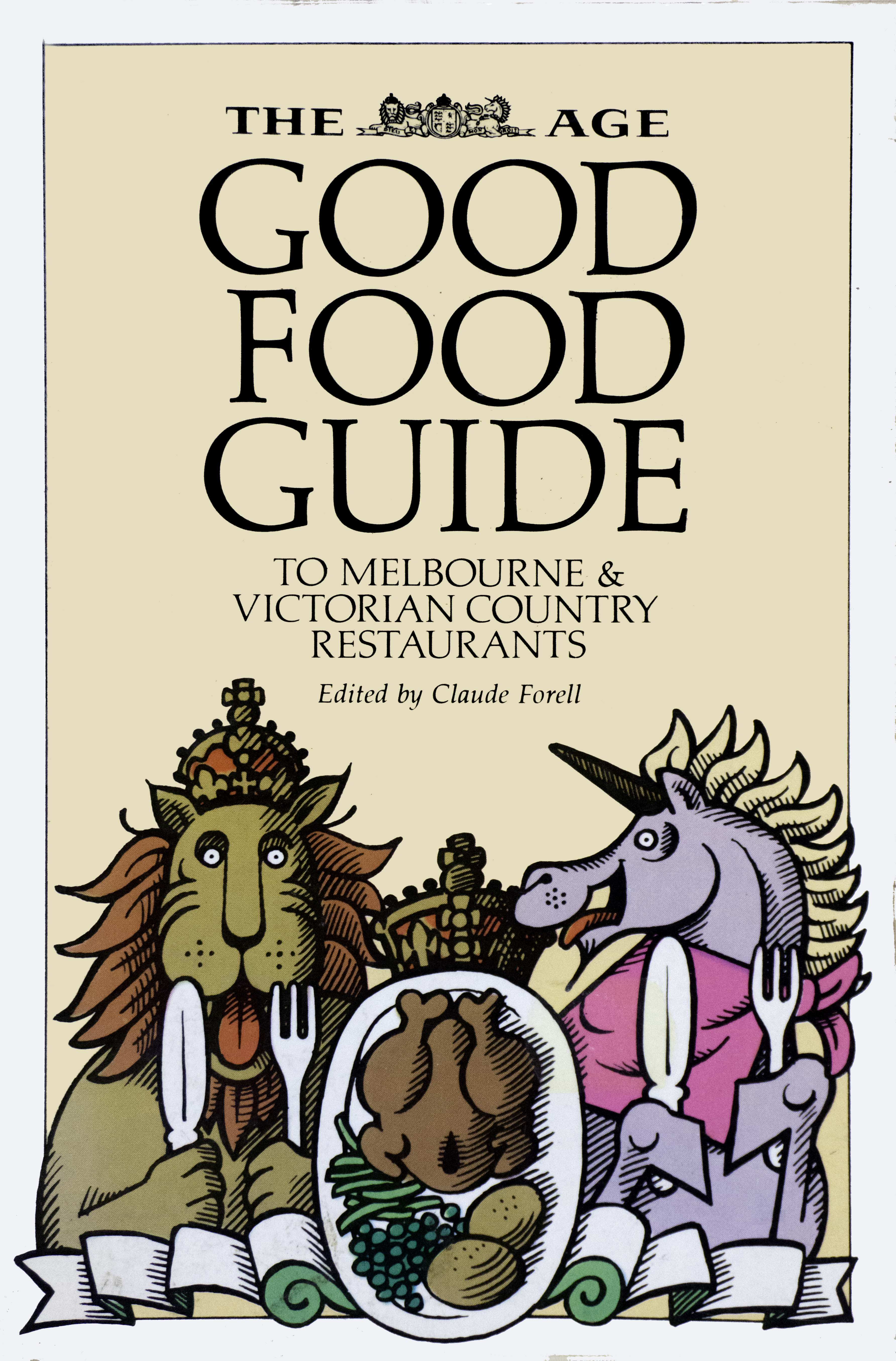 The age good food guide awards 2015 melbourne food & wine festival.