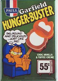 Garfield Hunger Buster ice cream
