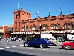 Adelaide Central Market today