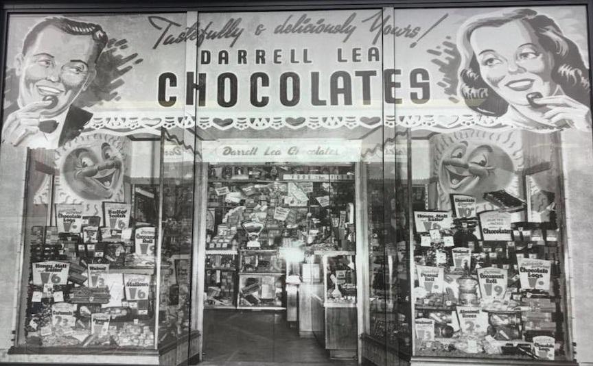 Darrell Lea store - historical