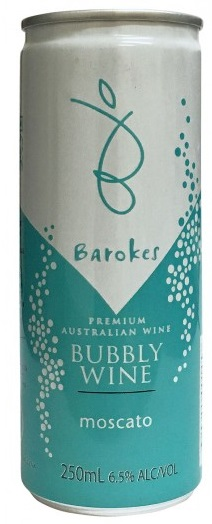 Barokes wine in a can
